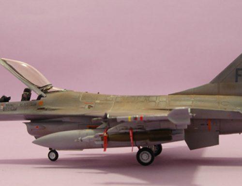 Lockheed Martin F-16AM Fighting Falcon Belgian Air Force – FA-97 based @ Kandahar