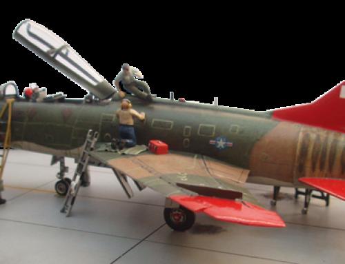 North American QF-100F Super Sabre