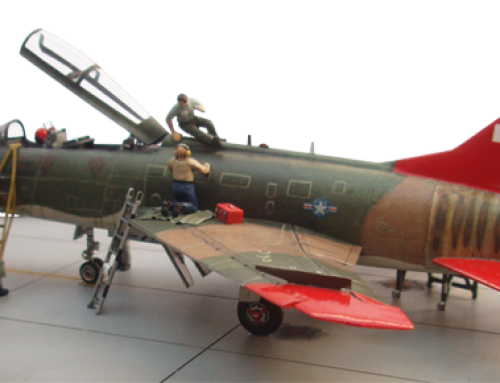 North American QF-100F Super Sabre