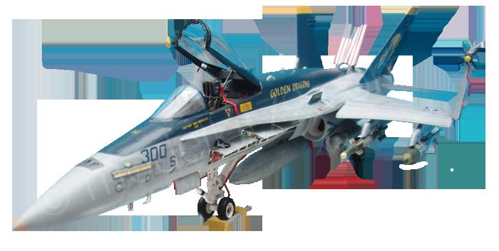 """F/A-18C Hornet """"Golden Dragons"""""""