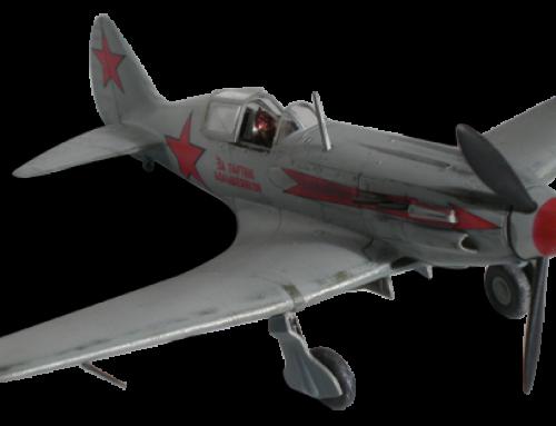 MiG-3 – 12th IAP Moscow Air Defence 1942, une flèche rouge dans le grand froid